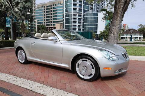 2004 Lexus SC 430 for sale at Choice Auto in Fort Lauderdale FL