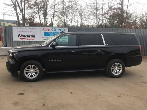 2018 Chevrolet Suburban for sale at Chuckran Auto Parts Inc in Bridgewater MA