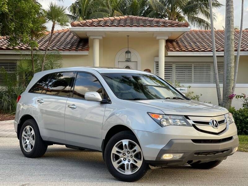 2009 Acura MDX for sale at Citywide Auto Group LLC in Pompano Beach FL