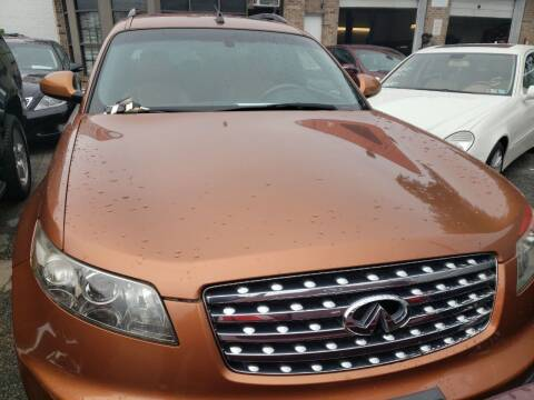 2003 Infiniti FX35 for sale at Jimmys Auto INC in Washington DC
