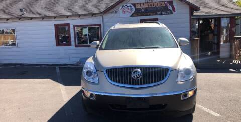 2008 Buick Enclave for sale at Martinez Cars, Inc. in Lakewood CO