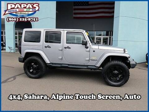 2014 Jeep Wrangler Unlimited for sale at Papas Chrysler Dodge Jeep Ram in New Britain CT