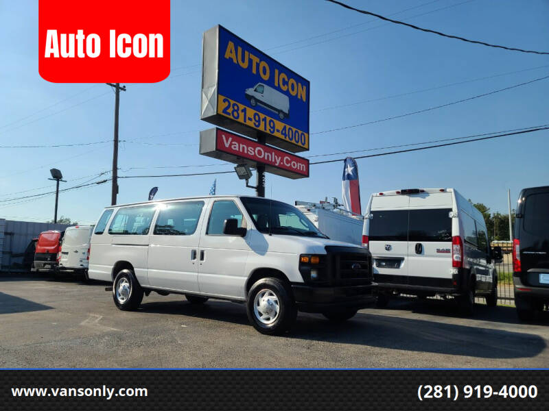 2011 Ford E-Series Wagon for sale at Auto Icon in Houston TX