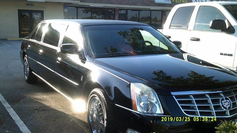 2011 Cadillac DTS Pro for sale at LAND & SEA BROKERS INC in Deerfield FL