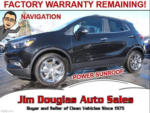 2017 Buick Encore for sale at Jim Douglas Auto Sales in Pontiac MI