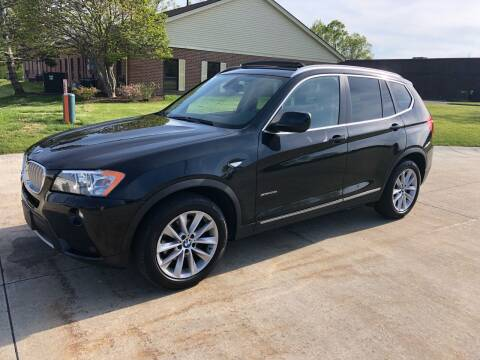 2011 BMW X3 for sale at Renaissance Auto Network in Warrensville Heights OH
