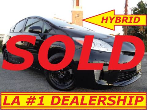 2012 Toyota Prius for sale at ALL STAR TRUCKS INC in Los Angeles CA