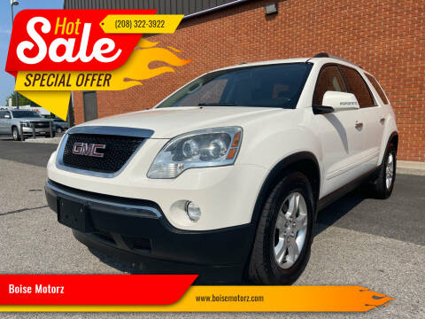 2011 GMC Acadia for sale at Boise Motorz in Boise ID