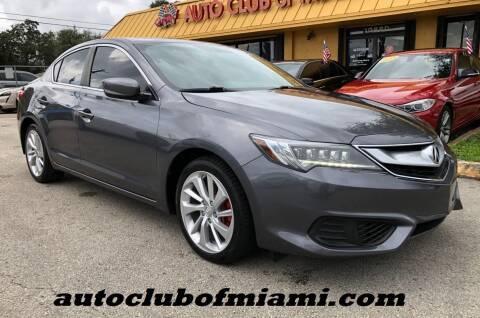 2017 Acura ILX for sale at AUTO CLUB OF MIAMI, INC in Miami FL