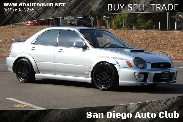 2003 Subaru Impreza for sale at San Diego Auto Club in Spring Valley CA