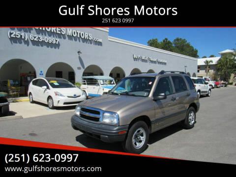2003 Chevrolet Tracker for sale at Gulf Shores Motors in Gulf Shores AL