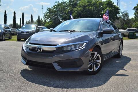 2016 Honda Civic for sale at Rivera Auto Group in Spring TX