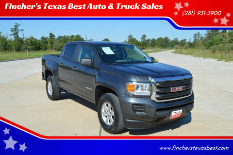 2016 GMC Canyon for sale at Fincher's Texas Best Auto & Truck Sales in Tomball TX