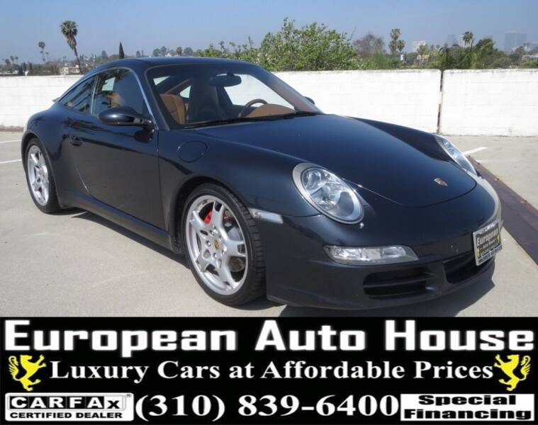 2008 Porsche 911 for sale at European Auto House in Los Angeles CA