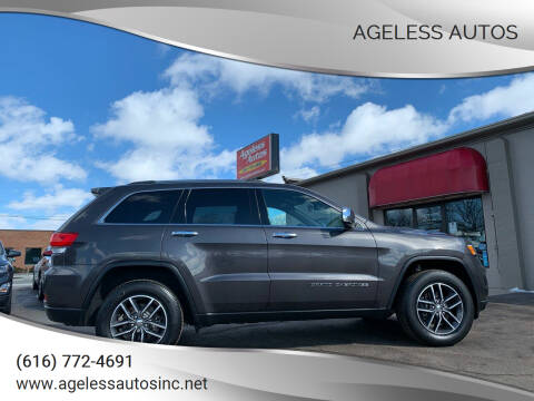 2018 Jeep Grand Cherokee for sale at Ageless Autos in Zeeland MI
