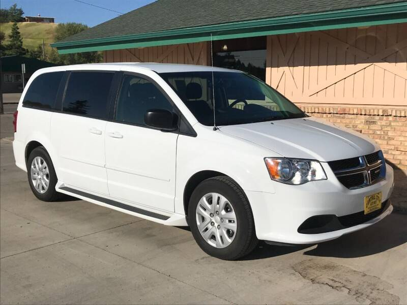 2017 Dodge Grand Caravan for sale at Central City Auto West in Lewistown MT