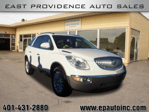 2010 Buick Enclave for sale at East Providence Auto Sales in East Providence RI