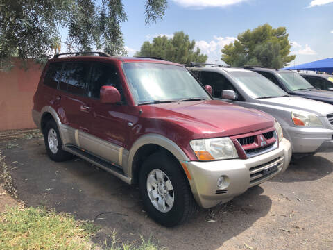 2003 Mitsubishi Montero for sale at Valley Auto Center in Phoenix AZ