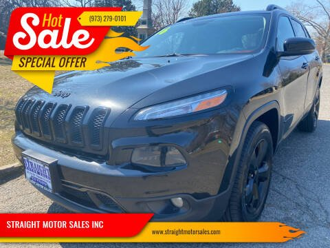 2016 Jeep Cherokee for sale at STRAIGHT MOTOR SALES INC in Paterson NJ