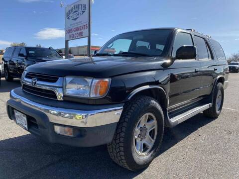 2001 Toyota 4Runner for sale at BERKENKOTTER MOTORS in Brighton CO