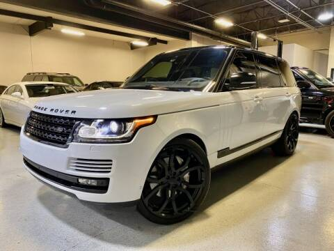 2016 Land Rover Range Rover for sale at Motorgroup LLC in Scottsdale AZ