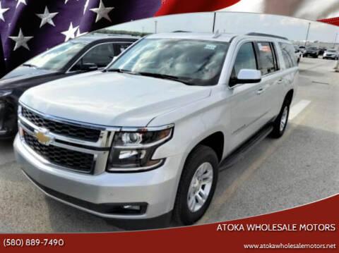 2020 Chevrolet Suburban for sale at ATOKA WHOLESALE MOTORS in Atoka OK