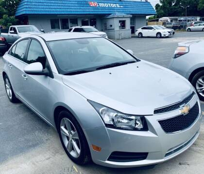 2013 Chevrolet Cruze for sale at RD Motors, Inc in Charlotte NC