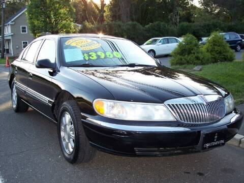 2001 Lincoln Continental for sale at Motor Pool Operations in Hainesport NJ