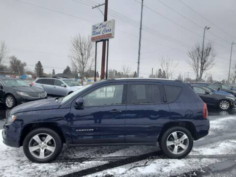 2016 Jeep Compass for sale at New Deal Used Cars in Spokane Valley WA