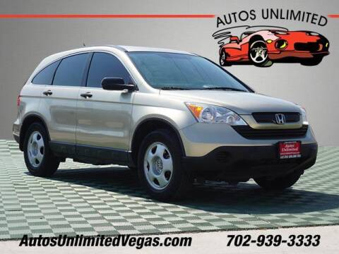 2007 Honda CR-V for sale at Autos Unlimited in Las Vegas NV