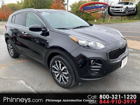 2017 Kia Sportage for sale at Phinney's Automotive Center in Clayton NY