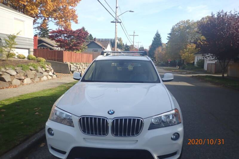2014 BMW X3 for sale at INTEGRITY AUTO SALES LLC in Seattle WA