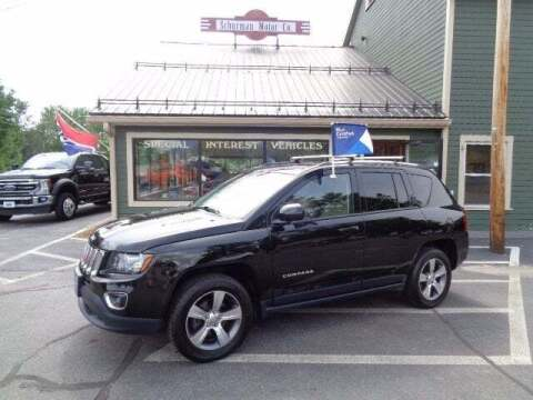 2016 Jeep Compass for sale at SCHURMAN MOTOR COMPANY in Lancaster NH