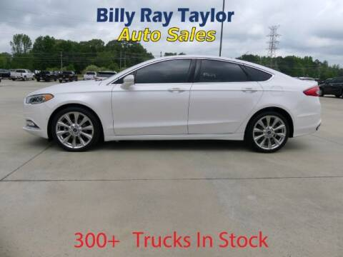2017 Ford Fusion for sale at Billy Ray Taylor Auto Sales in Cullman AL