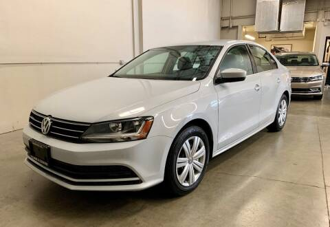2017 Volkswagen Jetta for sale at TOWNE AND COUNTRY MOTORS in Woodinville WA