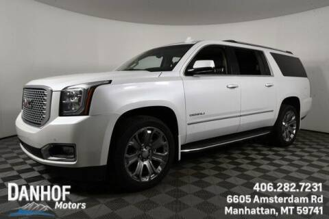 2017 GMC Yukon XL for sale at Danhof Motors in Manhattan MT