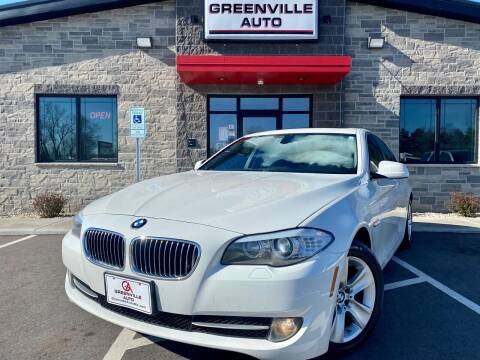 2013 BMW 5 Series for sale at GREENVILLE AUTO in Greenville WI