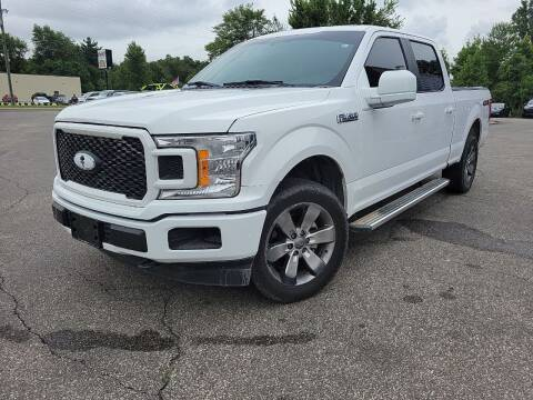 2018 Ford F-150 for sale at Cruisin' Auto Sales in Madison IN