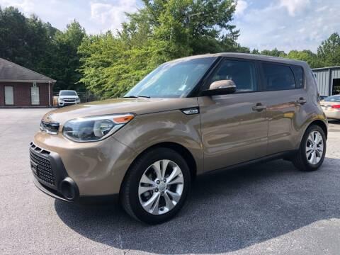 2014 Kia Soul for sale at GTO United Auto Sales LLC in Lawrenceville GA