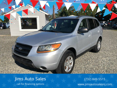 2009 Hyundai Santa Fe for sale at Jims Auto Sales in Lakehurst NJ
