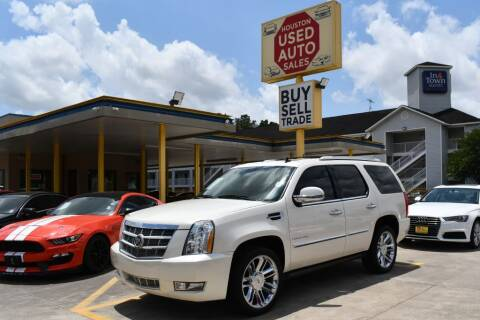 2010 Cadillac Escalade for sale at Houston Used Auto Sales in Houston TX