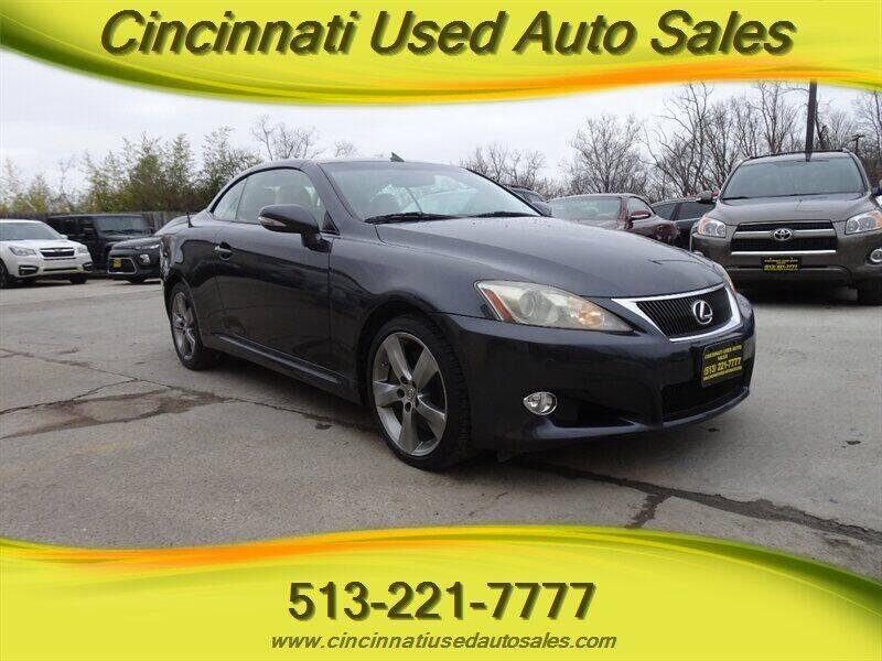 2010 Lexus IS 350C for sale at Cincinnati Used Auto Sales in Cincinnati OH
