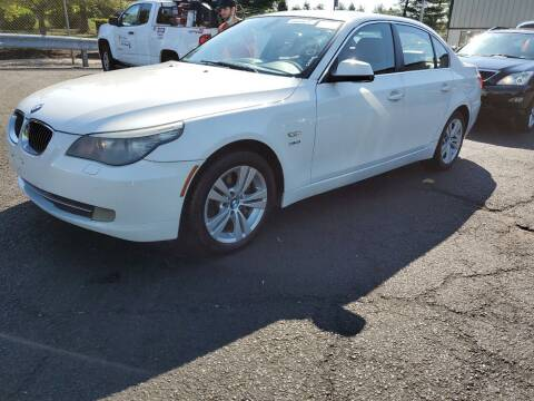 2010 BMW 5 Series for sale at GLOBAL MOTOR GROUP in Newark NJ