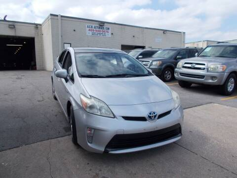 2012 Toyota Prius for sale at ACH AutoHaus in Dallas TX