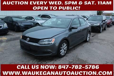 2011 Volkswagen Jetta for sale at Waukegan Auto Auction in Waukegan IL