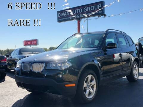 2007 BMW X3 for sale at Divan Auto Group in Feasterville PA