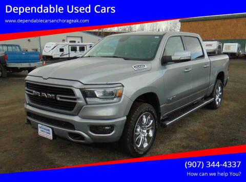 2019 RAM Ram Pickup 1500 for sale at Dependable Used Cars in Anchorage AK
