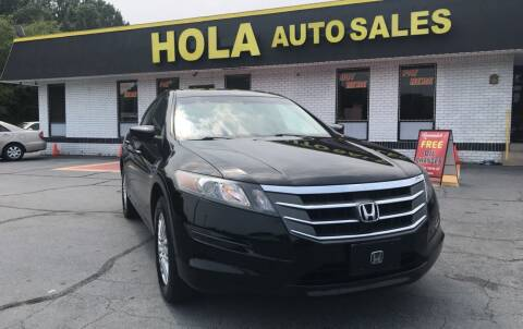 2012 Honda Crosstour for sale at HOLA AUTO SALES CHAMBLEE- BUY HERE PAY HERE - in Atlanta GA
