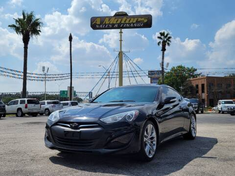 2014 Hyundai Genesis Coupe for sale at A MOTORS SALES AND FINANCE - 5630 San Pedro Ave in San Antonio TX