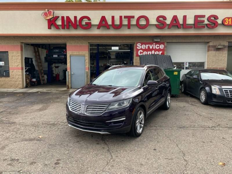 2015 Lincoln MKC for sale at KING AUTO SALES  II in Detroit MI